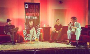 Brentley Frazer at Rock & Roll Writers Festival 2017