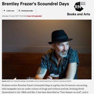 Brentley Frazer contemporary Australian poet